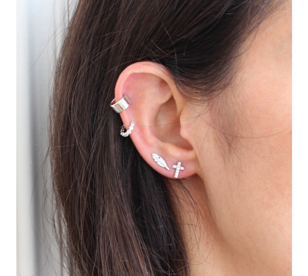 boucle d'oreille cartilage anneau
