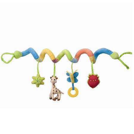boulier spirale sophie la girafe