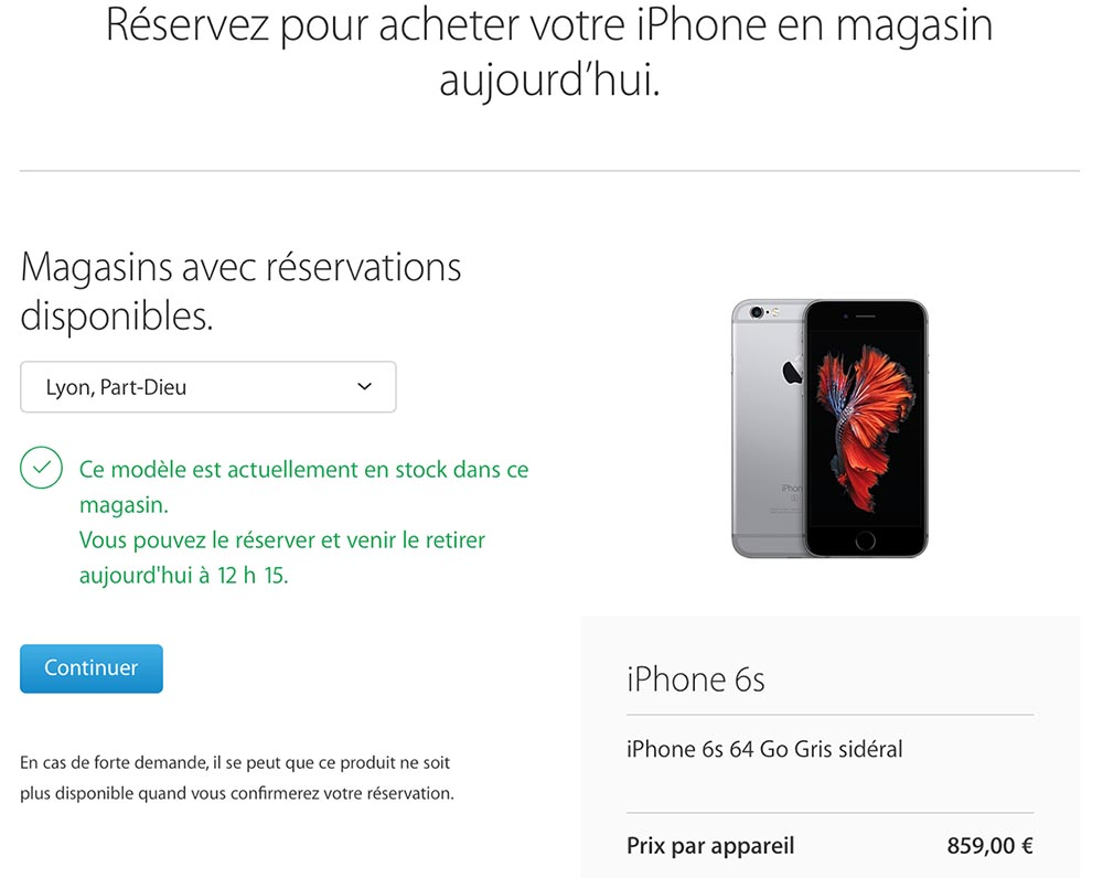 boutique en ligne apple