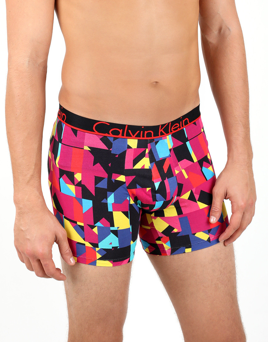 boxer multicolore