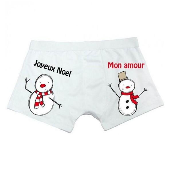 boxer noel pour homme