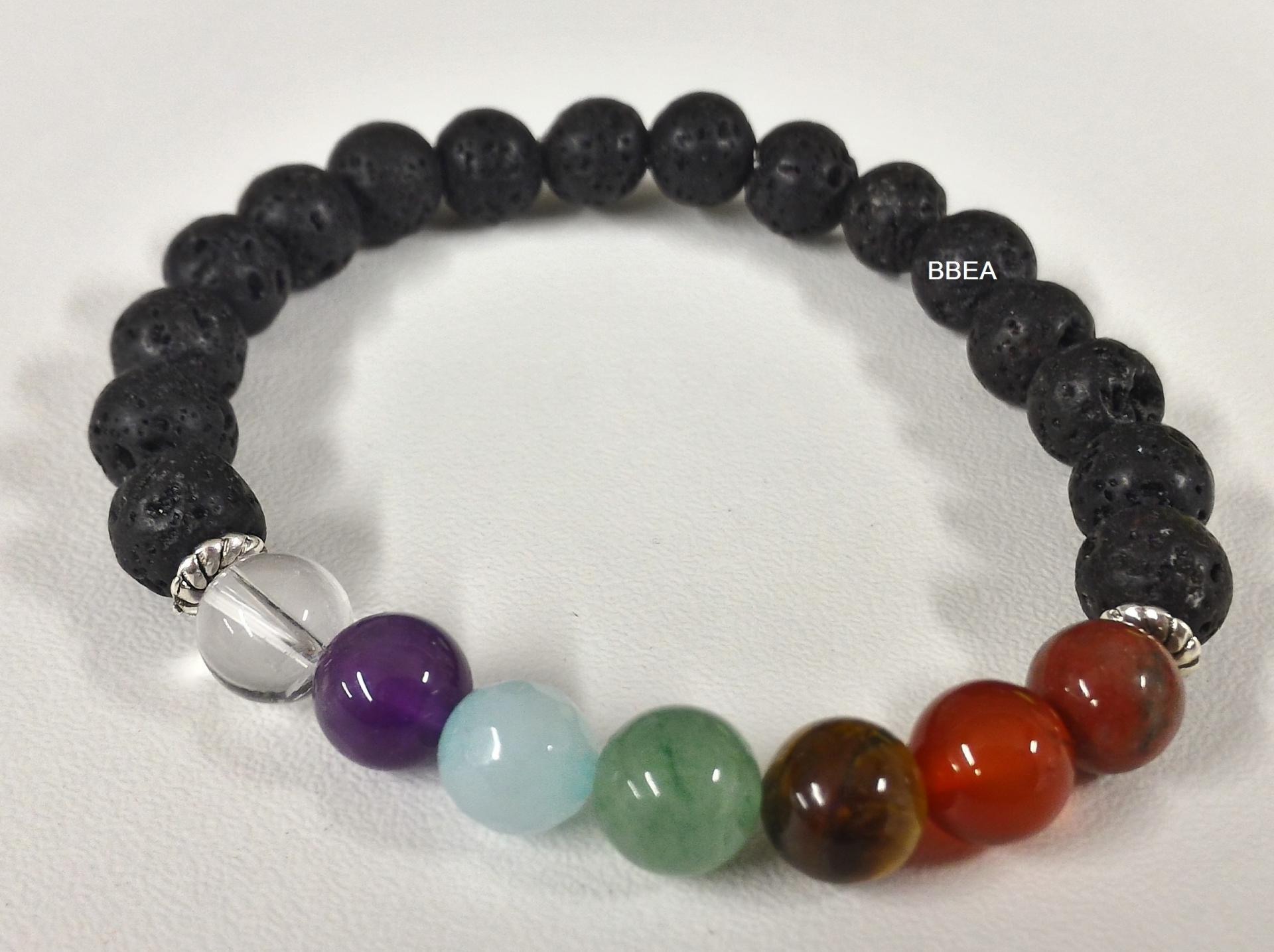 bracelet 7 chakras propriétés