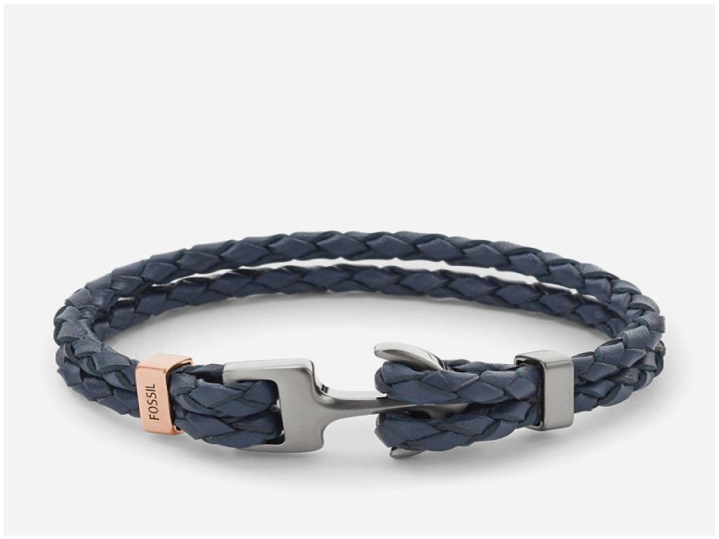 bracelet ancre fossil