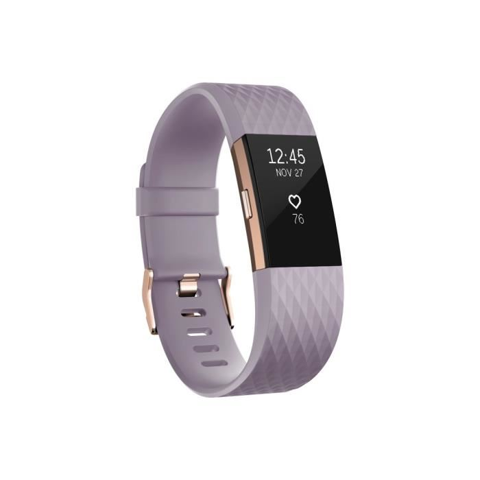 bracelet connecté fitbit charge 2