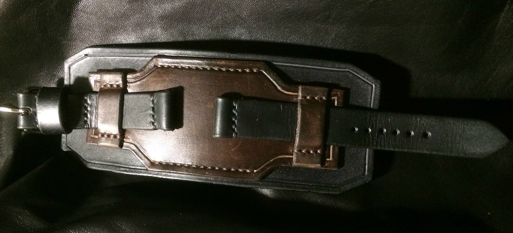 bracelet de force cuir pour montre