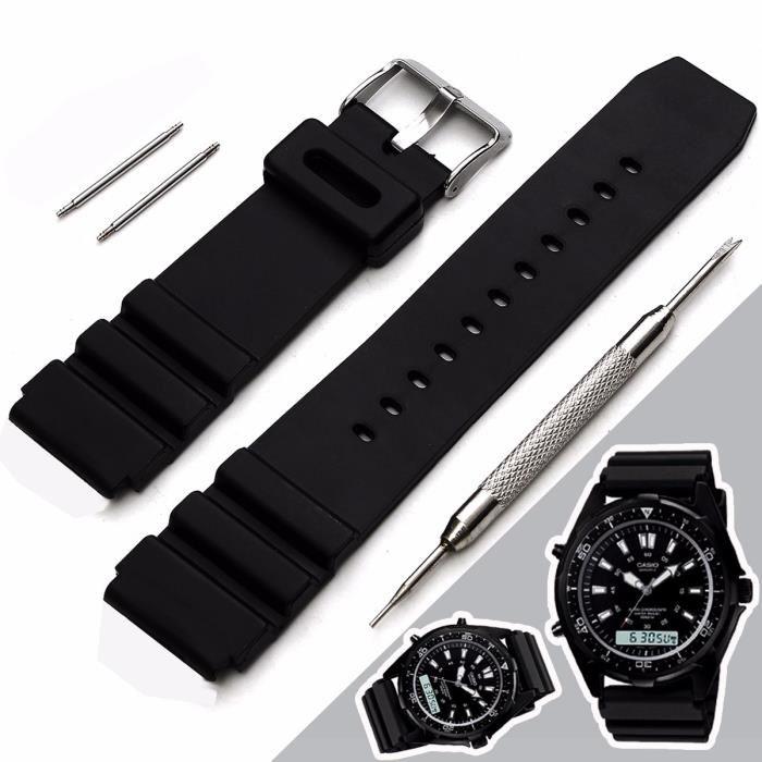 bracelet de montre en silicone