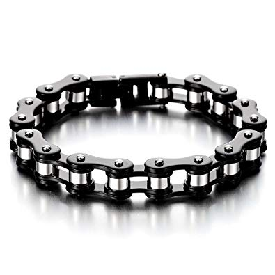 bracelet en chaine de moto