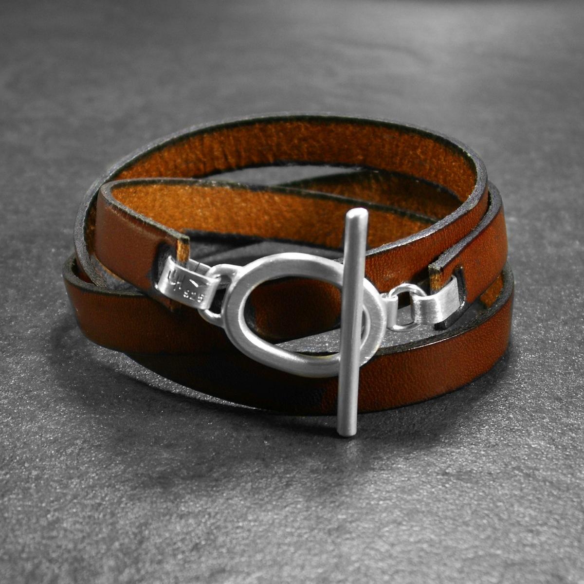 bracelet en cuir pour femme