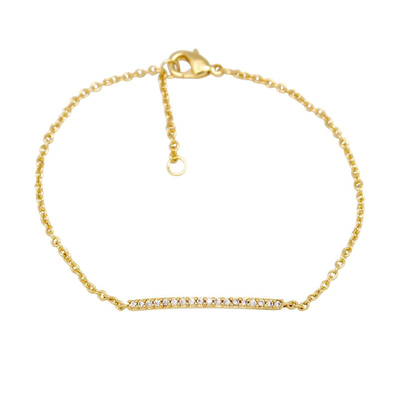 bracelet femme plaqué or