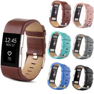 bracelet fitbit charge 2 cuir