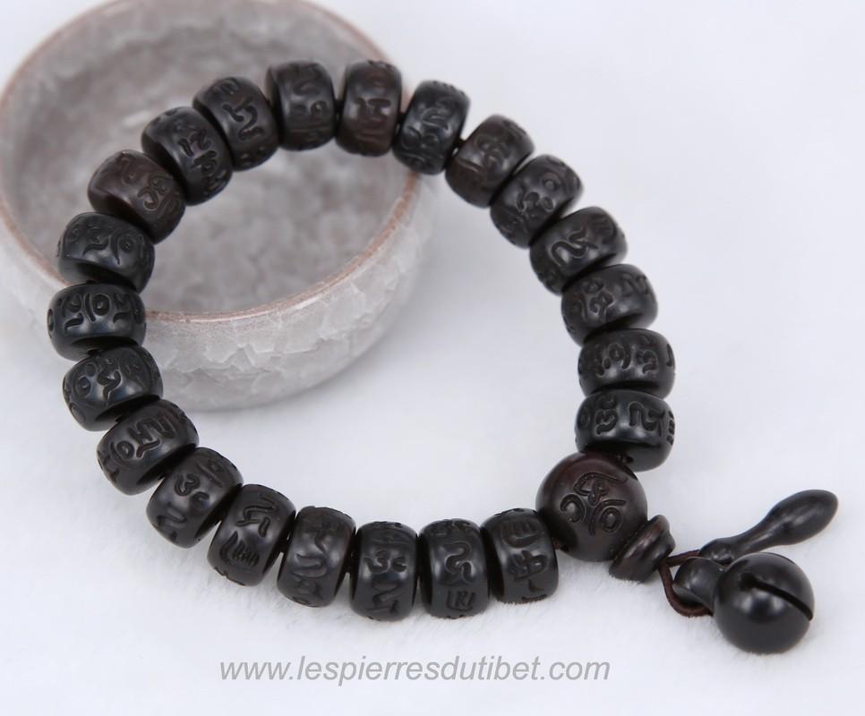 bracelet mala tibetain homme