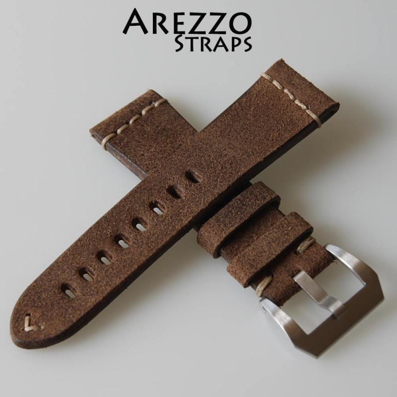 bracelet montre 22mm cuir