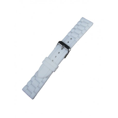 bracelet montre blanc
