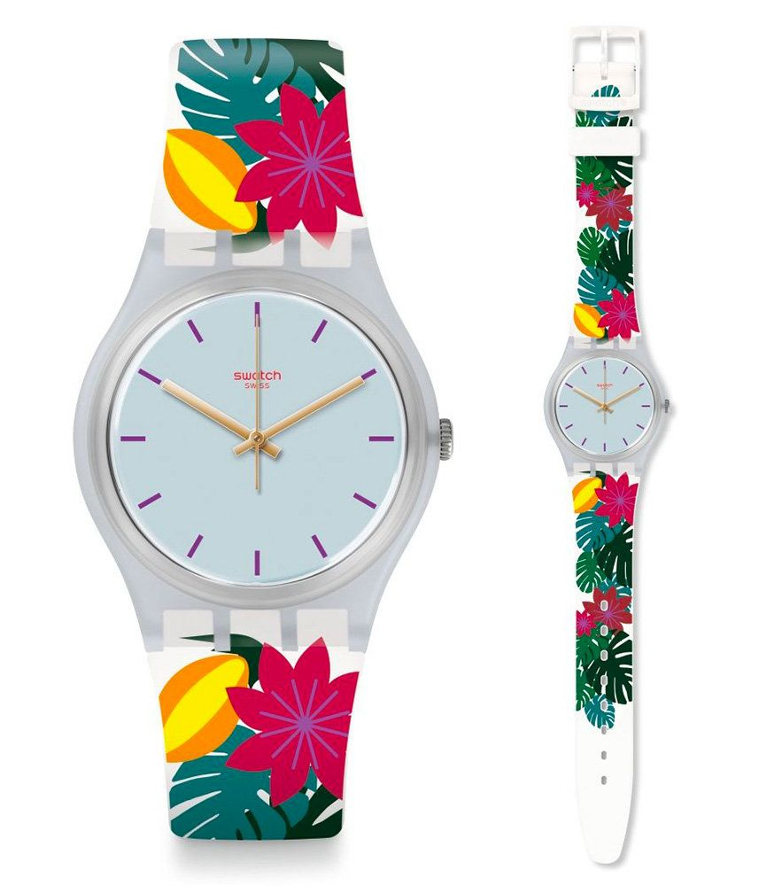 bracelet montre swatch silicone