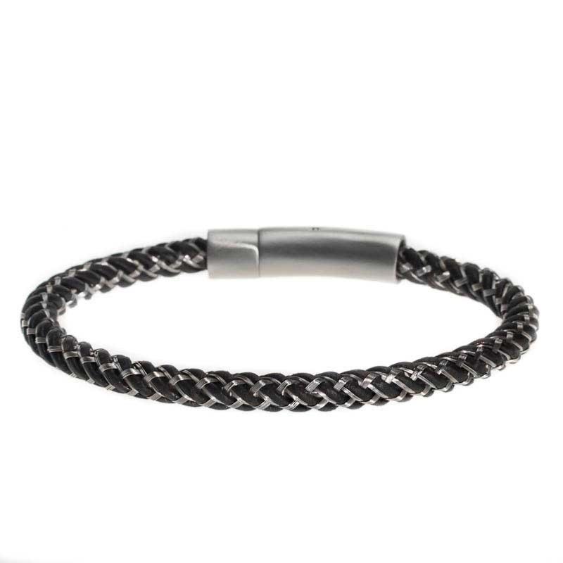 bracelet noir pour homme