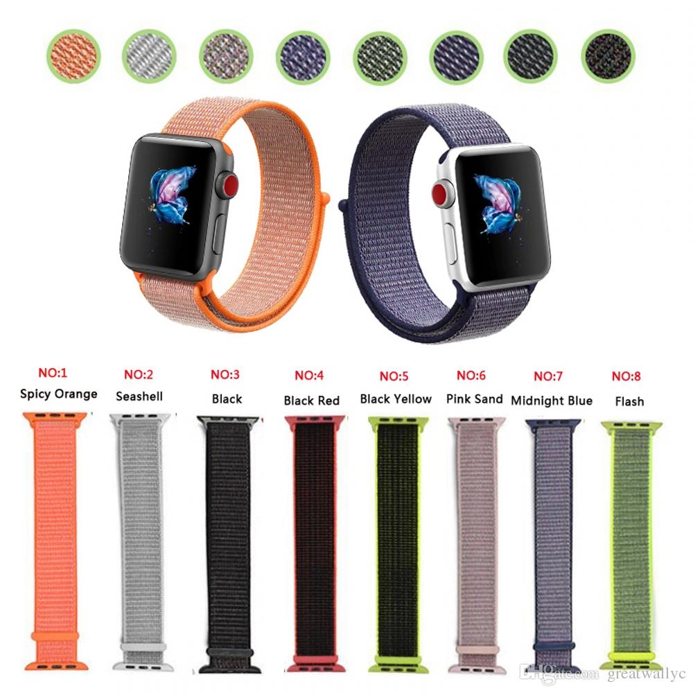 bracelet nylon apple watch