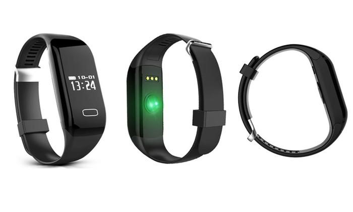 bracelet sport connecté bluetooth fréquence cardiaque