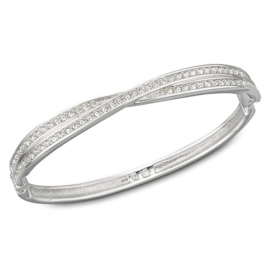 bracelet swarovski argent