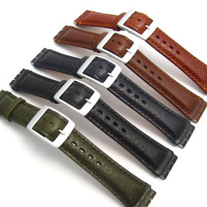 bracelet swatch cuir