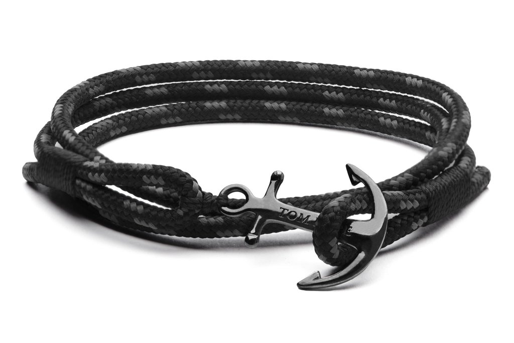 bracelet tom hope noir homme
