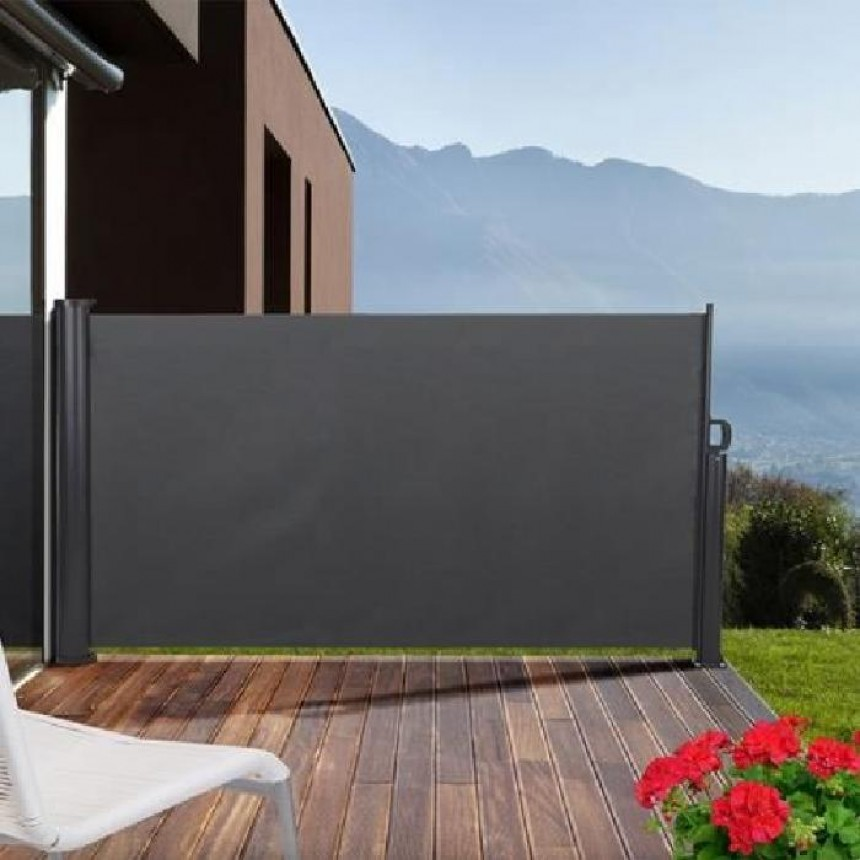 brise vent terrasse retractable