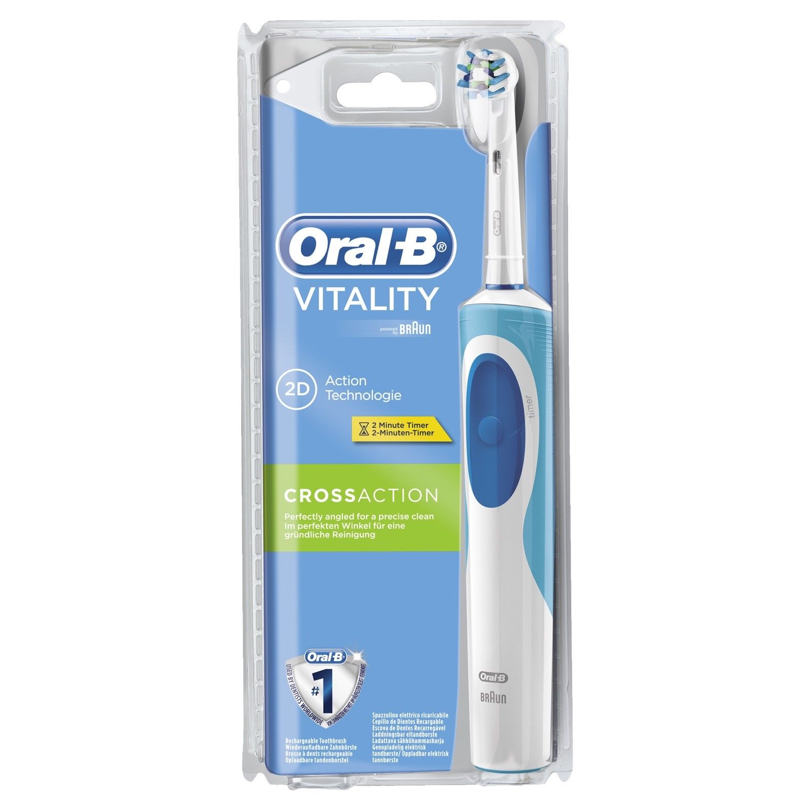 brosse a dent oral b cross action