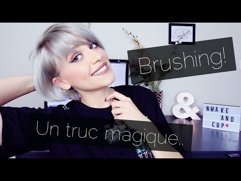 brosse brushing cheveux courts