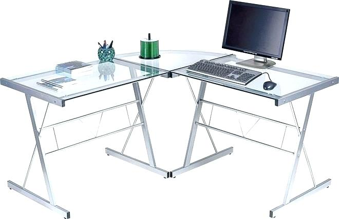 bureau angle verre