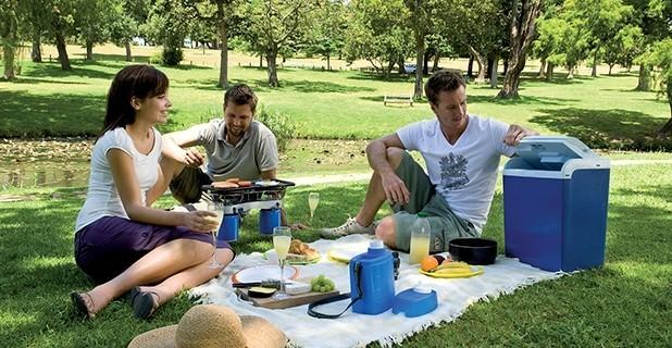 ca nique au camping
