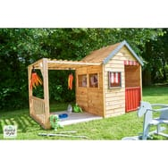 cabane de jardin bois enfant