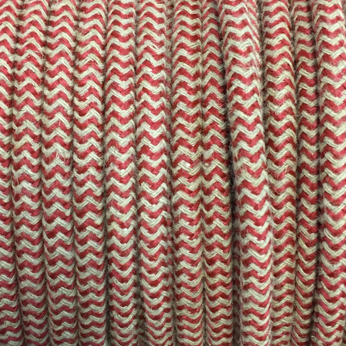 câble électrique tissu