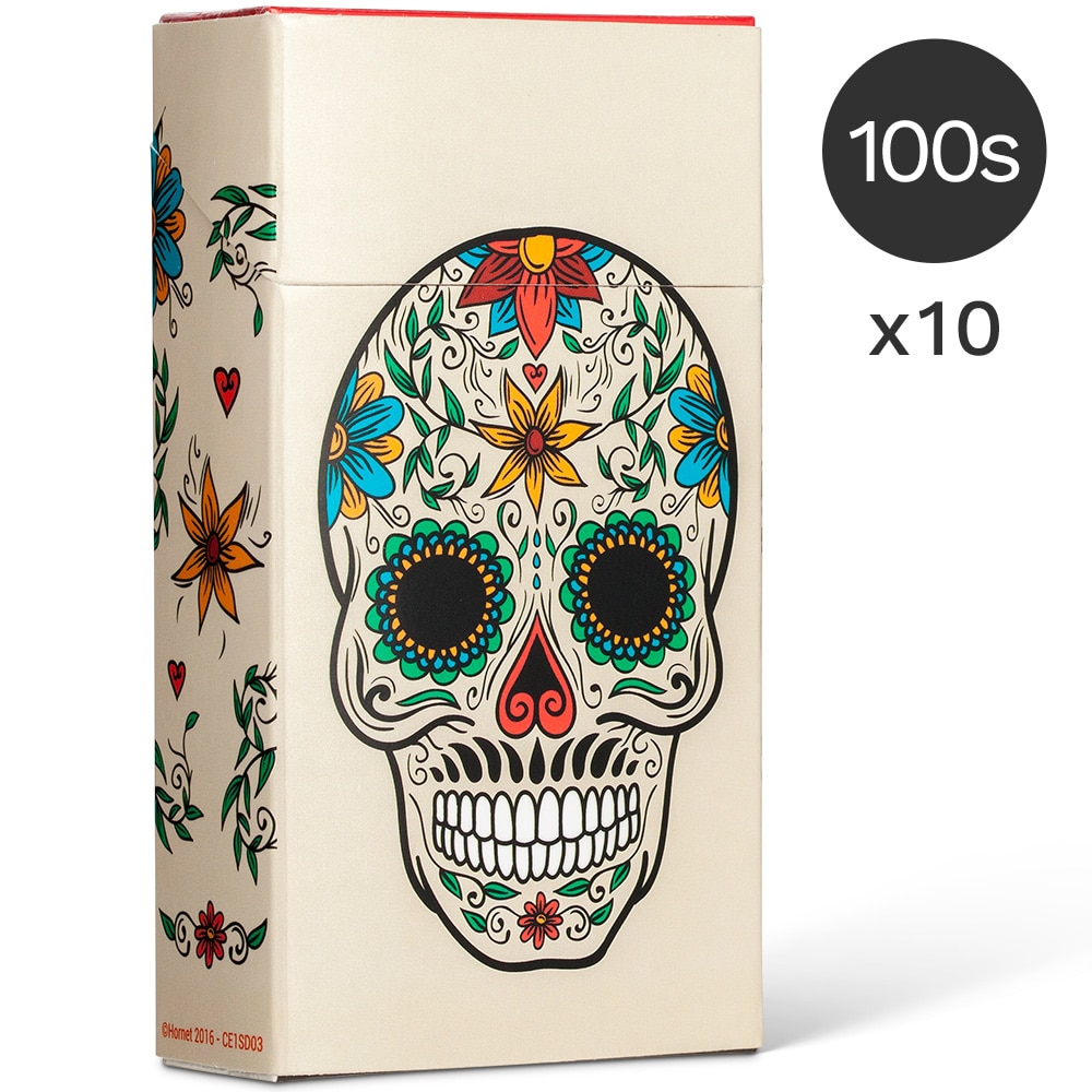 cache paquet cigarette 100s