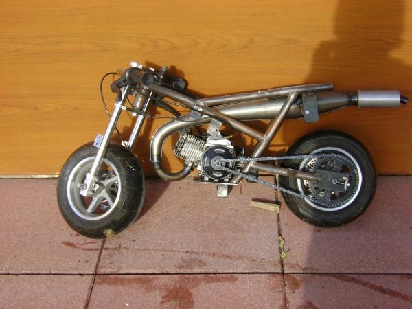 cadre pocket bike