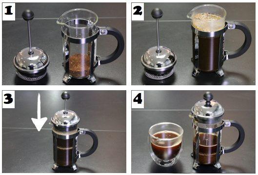 cafetière à piston comment ça marche