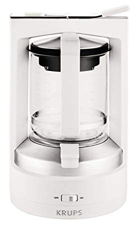 cafetiere krups blanche