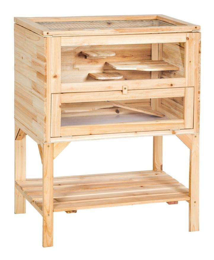 cage en bois pour hamster
