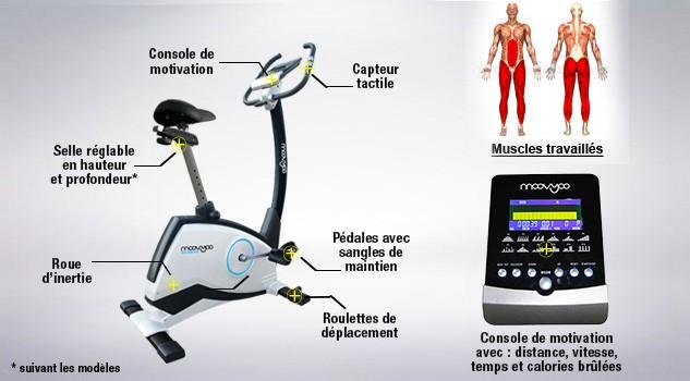 calories vélo d appartement
