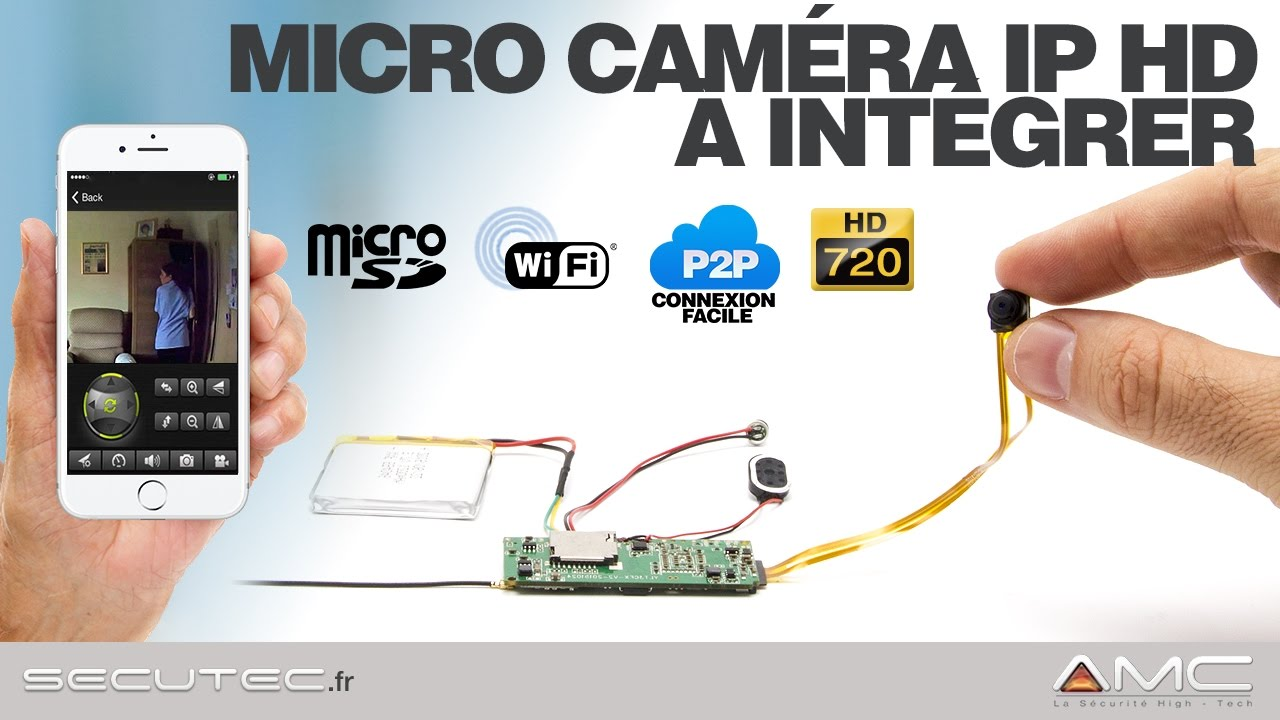 camera espion wifi hd