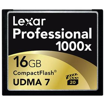 carte compact flash 16 go