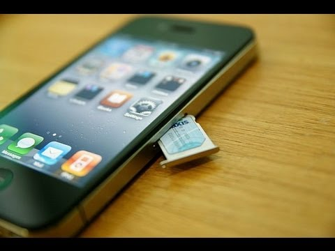 carte sim iphone 4