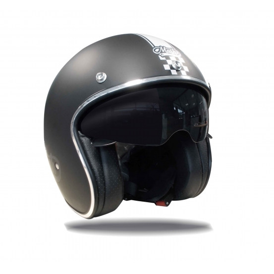 casque cafe racer