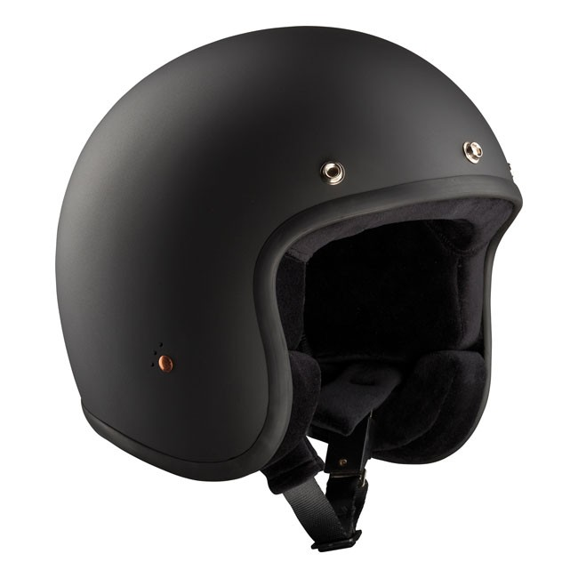casque jet noir