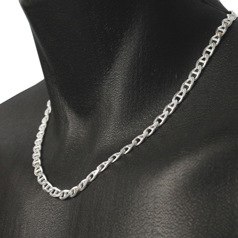 chaine argent femme 45 cm