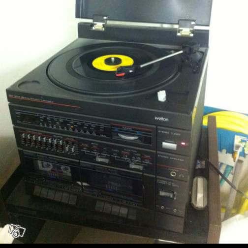 chaine hifi vinyl