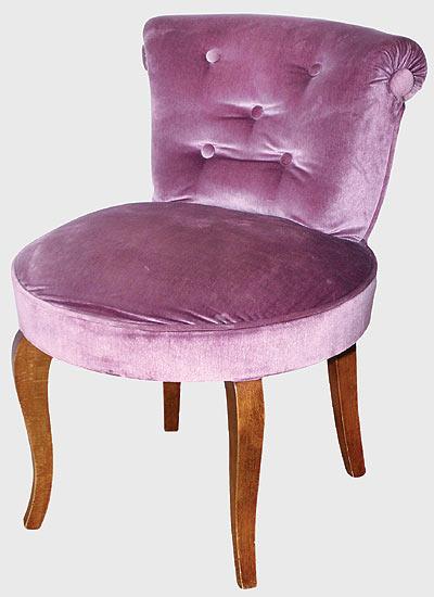 chaise de coiffeuse