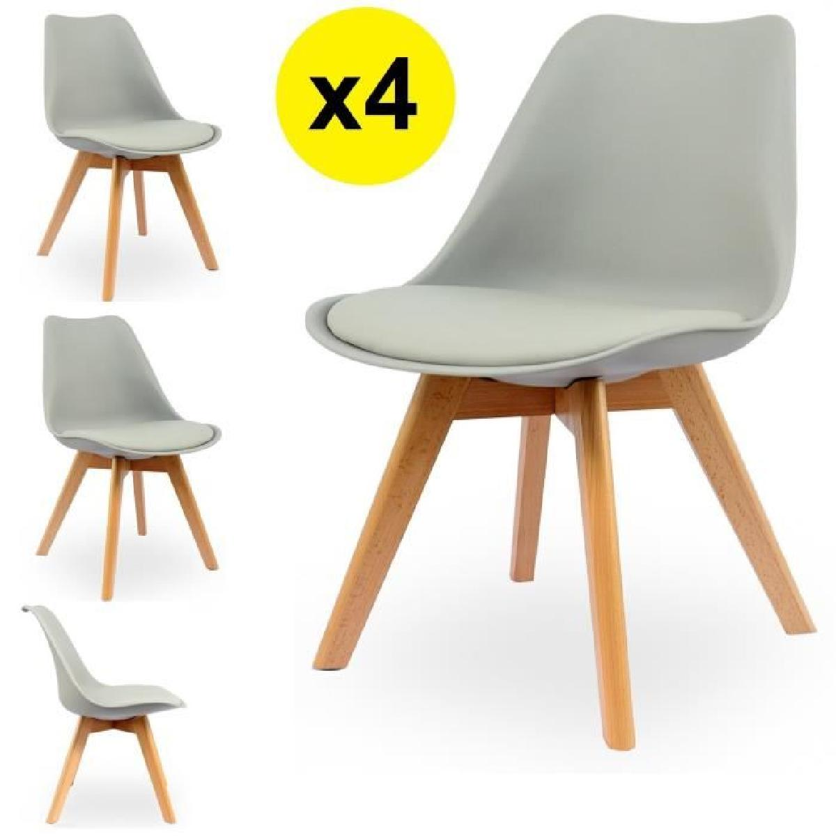 chaises scandinaves