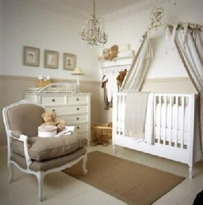 chambre enfant beige