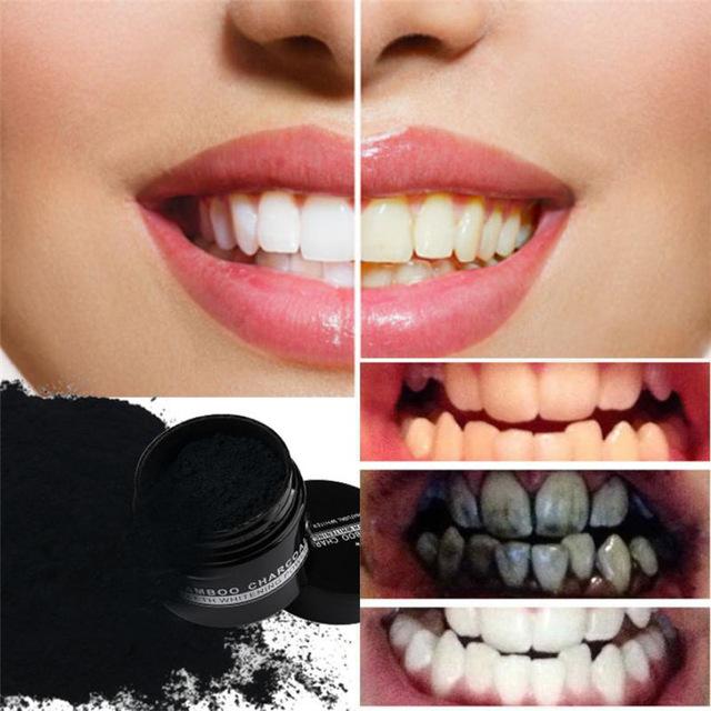 charbon blanchiment des dents