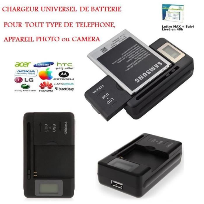 chargeur batterie samsung