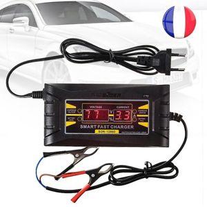 chargeur batterie voiture 12v